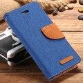Saco de capa de couro de luxo Duplo cor super magnética dupla bag para iphone 6 6 s para o caso do iphone 6 p função de cartão 6bp