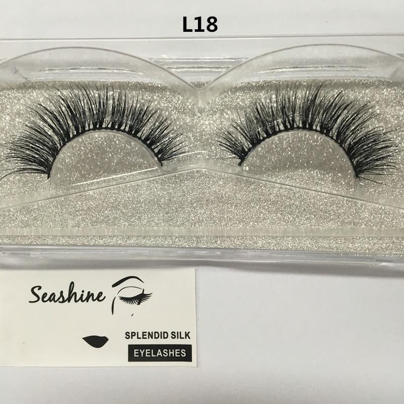 10 pairs Cheap price real mink fur material mink hair eyelash strips 3D mink lashes false eyelashes free shipping