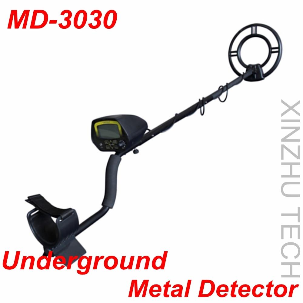 Hot Newest Waterproof MD-3030 Underground Metal Detector High Sensitivity Treasure Hunter Digital LCD Display Gold Finder промышленный детектор металла hot selling md 5008 gold finder