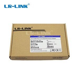 Image 5 - Двухсторонний адаптер сети Ethernet Gigabit, четырехпортовый PCI Express, оптоволоконная Lan карта, совместимая с Intel стандарта