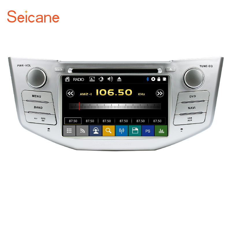 Seicane GPS Bluetooth <font><b>Car</b></font> DVD Radio for 2003-2010 <font><b>Lexus</b></font> RX 300 330 350 400H support SD Backup Camera <font><b>DVR</b></font> Steering Wheel Control image