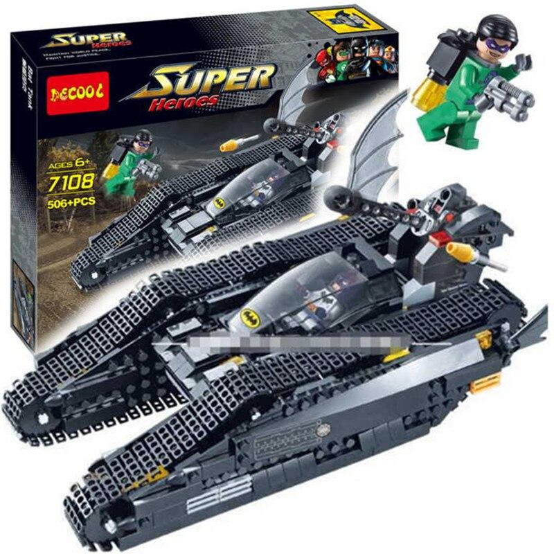 Decool 7108 Super Heroes Avenger Age Of Ultron Minifigure Batman Building Blocks Toys Children Minifigures Compatible Legoe