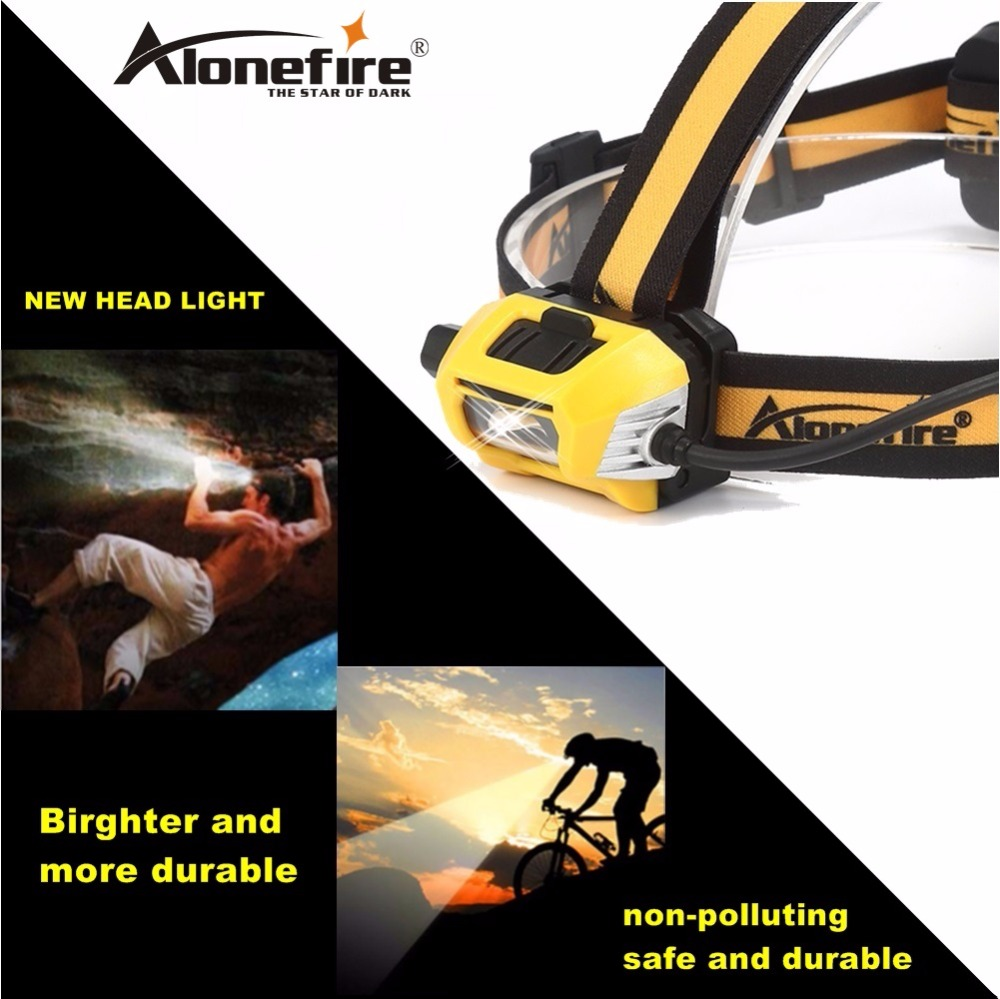 AloneFire HPB7 Headlamp Rechargeable Led Head Lamp Lights on Your Forehead Flashlight Head Light Led Lintern Touch Fishing light yage rechargeable led head lamp lights headlamp on your forehead flashlight head light mini led linterna running headlamp