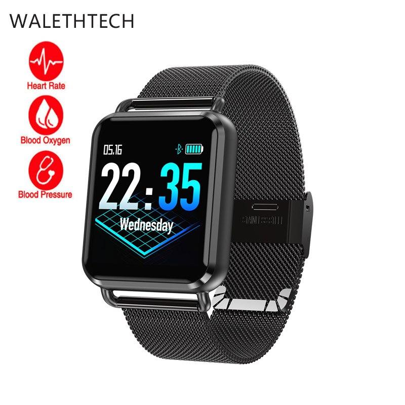 Smart Band Q3 Smart Bracelet Men Watch waterproof Dynamic Blood Oxygen Pressure Pedometer fitness tracker Heart Rate smartwatch