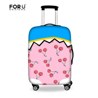 Novelty Design Elastic Luggage Protective Cover For 18 20 22 24 26 28 30 Inch Suitcase