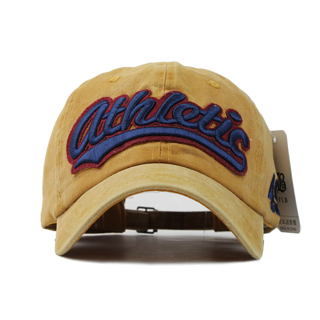 100% Washed Denim Baseball cap  4