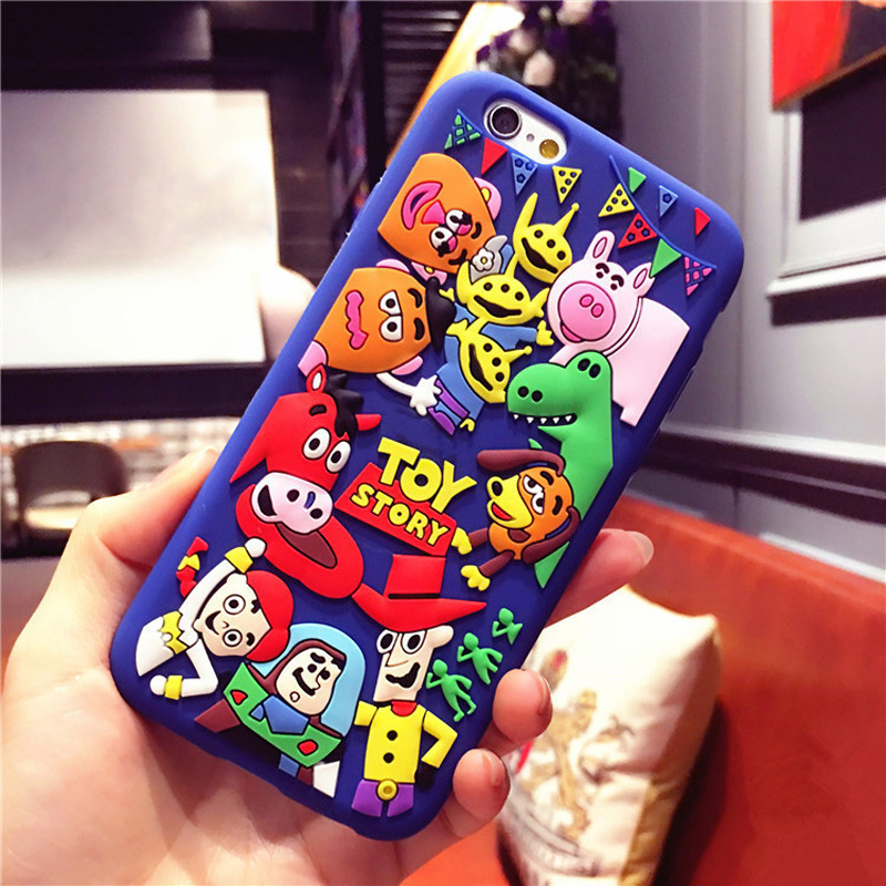 3D Cute Cartoon Soft Silicon Case Cover Skin Shell For Huawei P8 P8 Lite P9 P9 Lite P10 P20 Lite P10 Plus Mate 10 in Fitted Cases from Cellphones Telecommunications