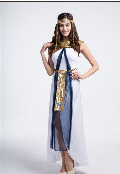 Fancy Dress Costume <font><b>Halloween</b></font> Carnival role-playing Cosplay Costumes Party <font><b>sexy</b></font> Greek goddess <font><b>queen</b></font> For Adult Women image