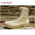 Laite Hebe Delta Botas Tácticas Botas de Combate Militares Del Desierto SWAT Americano Al Aire Libre Zapatos Transpirables Botas Wearable CN Tamaño 39-45