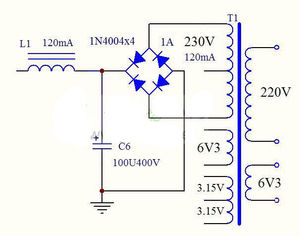 Image 4 - 6N1 + 6P1 vana Stereo amplifikatör kurulu vakumlu tüp amplifikatörler Filament Hifi ses AC güç kaynağı ile 3vsvTubes