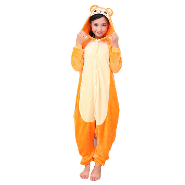 1ab41d03fc09 Animal Gold Monkey Unisex Adult Onesies Onesie Pajamas Jumpsuit ...