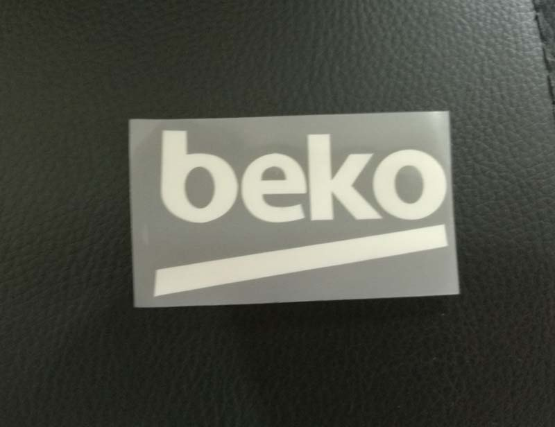 2014-2018 home white away blue BEKO patch ...