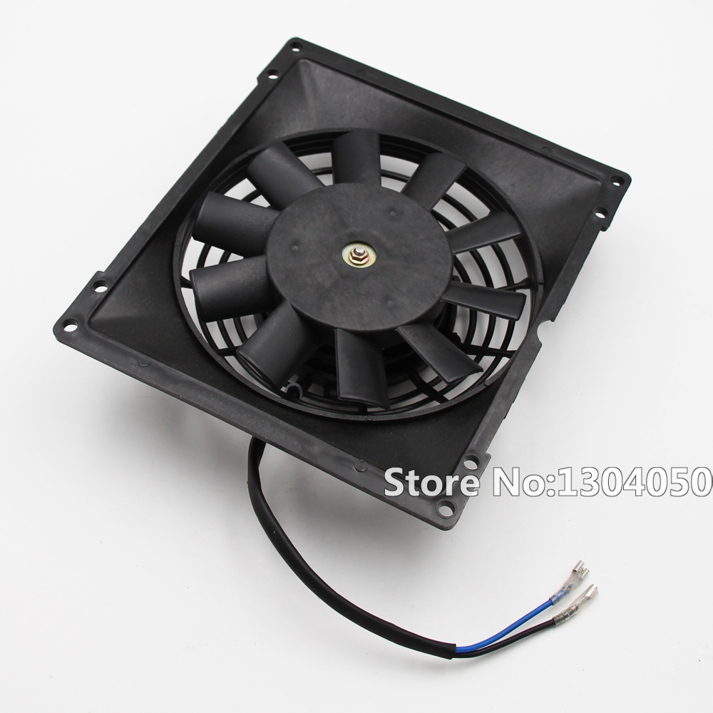 Motorcycle ATV Go Kart QUAD Buggy ZONGSHEN <font><b>LIFAN</b></font> Water Cooler 12V Radiator Cooling Fan NEW image