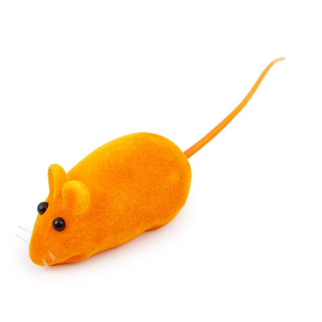 6 di colore Del Mouse A Forma di Giocattoli Gattino Cattura Toy False Topo Rat Squeak Rumore Gatto Del Mouse Giocattoli Per Animali Da Compagnia Cani E gatti Forniture