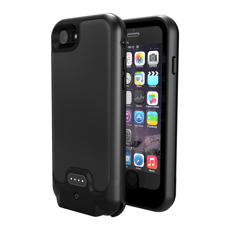 New Full 3200mAh Power bank case pack backup battery Charge case cover for iPhone 7 8 4.7 inch