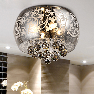 Free Shipping D40cm Modern K9 Crystal ceiling lamp bed room ceiling lights  dining room restaurant study. Aliexpress com   Buy Free Shipping D40cm Modern K9 Crystal ceiling