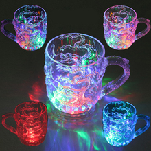 Luminous Toys/Induction flash dragon cup / pouring light / beer cup/colorful light/baby toys for children/toy/best gift