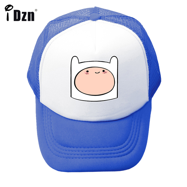 818e42b94d5 Summer Casual Children Boy Girl Baseball Caps Cute Cartoon Adventure Time  with Finn and Jake Dog