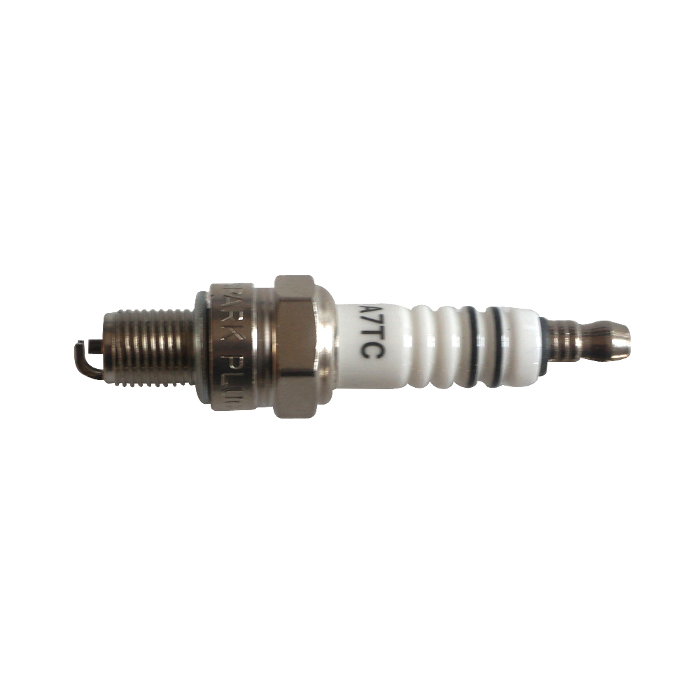 10 PCS Set A7TC 10mm Thread Spark Plug For Honda YBR125 GY6 50cc 150cc Scooter in ABS Sensor from Automobiles Motorcycles