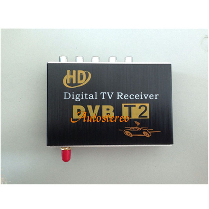 CAR DVB-T2 Mobile DIGITAL TV TUNER RECEIVER For Russia Thailand Columbia compatible with H.264, MPEG-4, MPEG-2 Standard ZW-689 hot digital car tv tuner dvb t2 car tv receiver hdmi 1080p cvbs dvb t2 support h 264 mpeg4 hd tv receiver for car free shipping