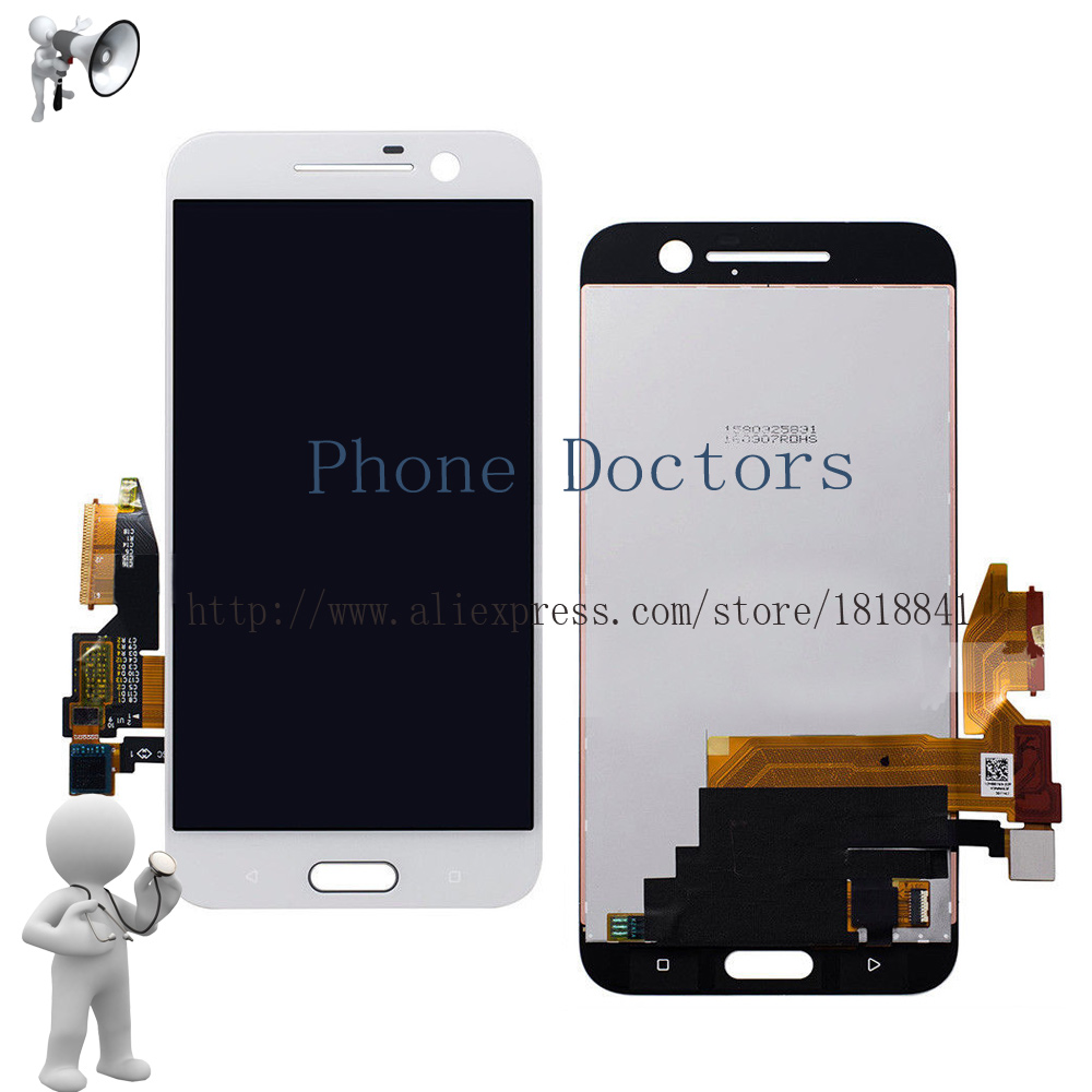 5.2 For HTC M10 10 Full LCD DIsplay+Touch Screen Digitizer Assembly For HTC 10 | One M10 M10H  LCD ; White ; 100% Tested5.2 For HTC M10 10 Full LCD DIsplay+Touch Screen Digitizer Assembly For HTC 10 | One M10 M10H  LCD ; White ; 100% Tested