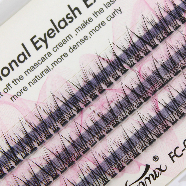 Professional silk eyelashes extension Fashion dovetail fly eyelash false eye lashes