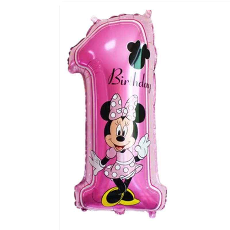 Все манеры Микки Минни воздушные шары на день рождения надувные декорации для вечеринки воздушные шары Детские Классические игрушки мультфильм шляпа - Цвет: 13