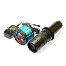 Buy online HD 2.0MP VGA AV 1080P  Industry Lab Digital Inspection Microscope Camera  + 180X C-MOUNT Zoom Lens