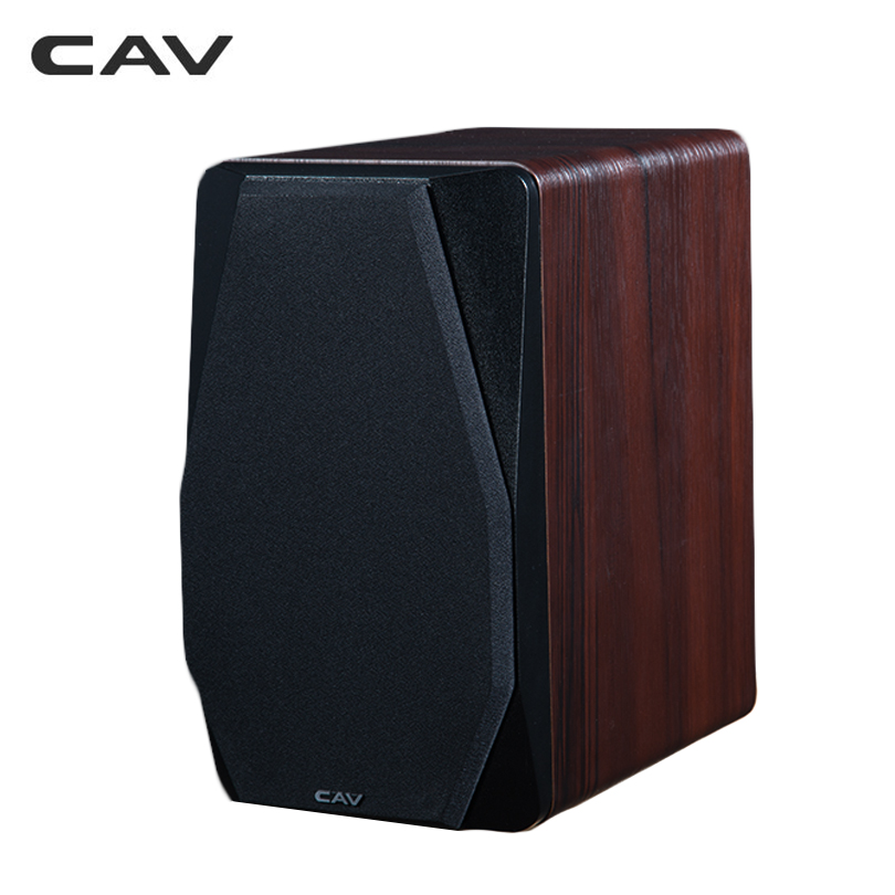 CAV FD-20 Bookshelf Speaker 2.0 Bluetooth Speaker SoundSystem Wood MusicSpeakers For Computer Column Soundbar 5.25Inch Newest 4
