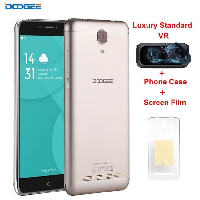 Original DOOGEE X7 Pro ROM 16GB+RAM 2GB Network 4G 6.0'' 2.5D Android 6.0 MTK6737 64-Bit Quad Core Dual SIM IPS Screen WCDMA&LTE