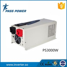 3000w 12v 220v solar energy inverter charger,pure sine wave board with excellent protections