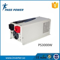 3000w 12v 220v solar power inverter charger,pure sine wave board with perfect protections