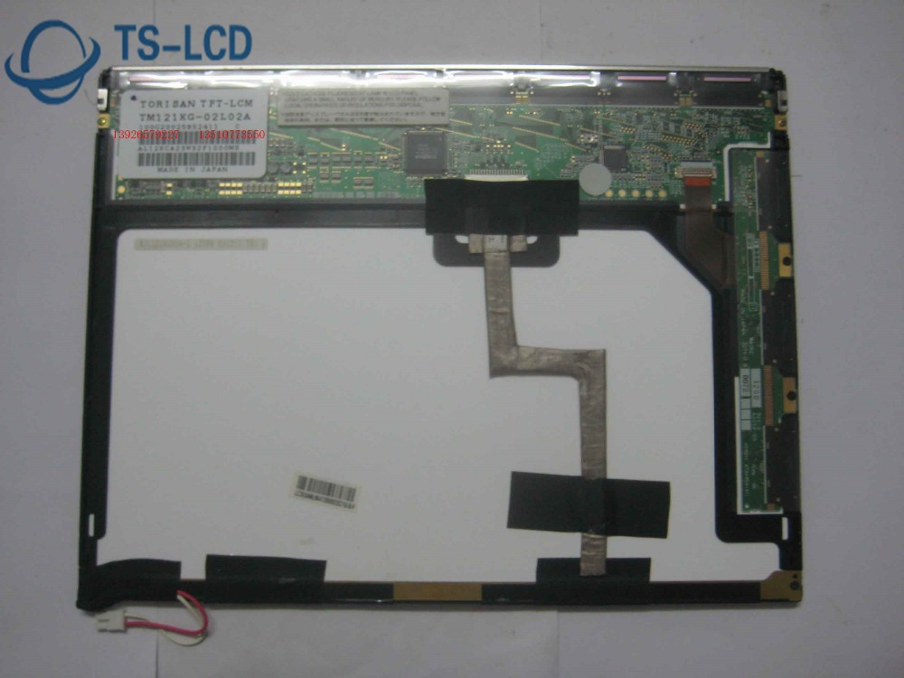 100% TESTING Original A+ Grade TM121XG 02L02A 12.1 inch LCD panel Screen 12 months warranty