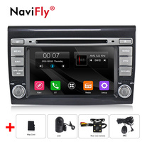NaviFly wince Promotion Car dvd player gps cassette for Fiat/Bravo 2007 2012 Car USB SD video play Bluetooth phone music