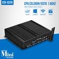Min computador host, Xcy X26-1037G C1037U 8 g ram 8 g ssd wifi Mini servidor XP diy Mini caixa de pc 4 * RS-232 8 * USB Mini