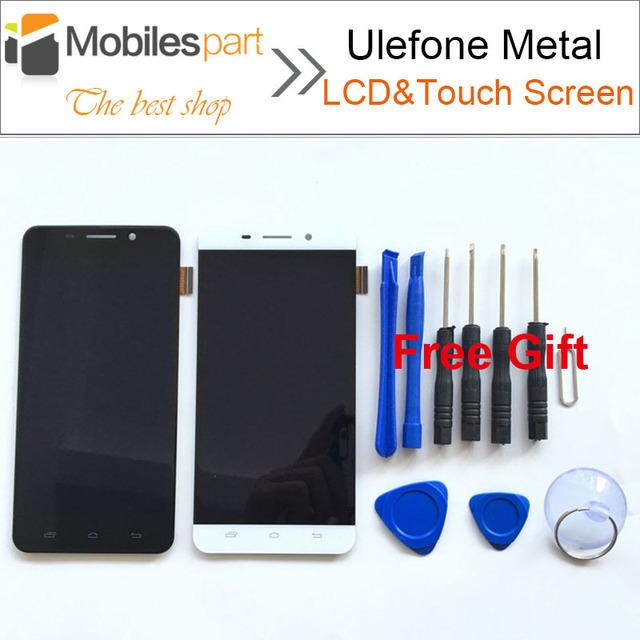 Ulefone Acessórios de Metal Substituição da Tela LCD de 100% Novo de Alta Qualidade Display LCD + Touch Screen para Ulefone Smartphones De Metal