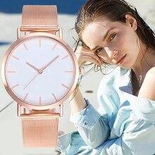 Fashion Women Watches Personality Romantic Rose Gold Strap Watch Women's Wrist Watch Ladies Clock Reloj Mujer Zegarek Damski цена и фото