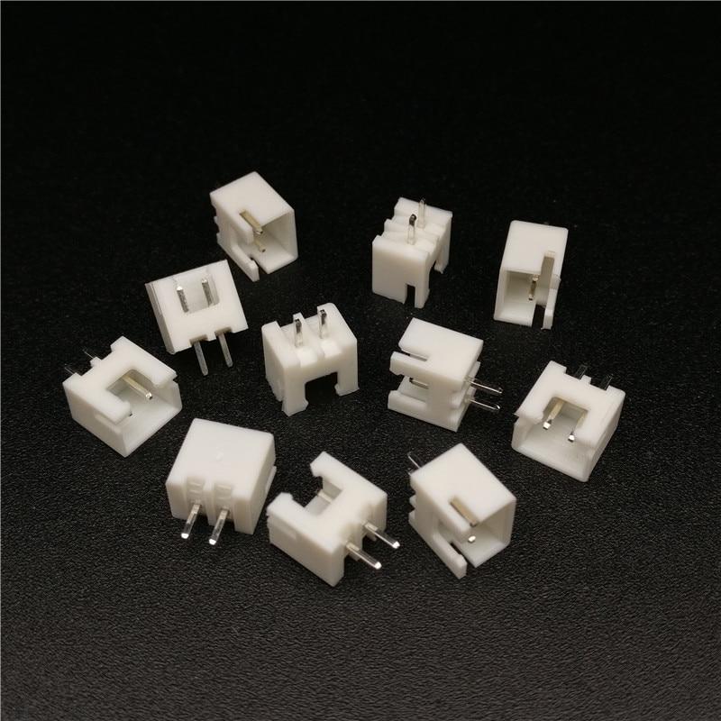 200pcs 2.54mm Pitch Male 2 Pins RC Lipo Battery Balance Connector XH Header