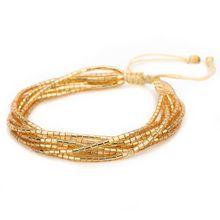 Handmade Evil Eye Miyuki Seed Beads Bracelets Set Loom Woven Friendship Jewelry