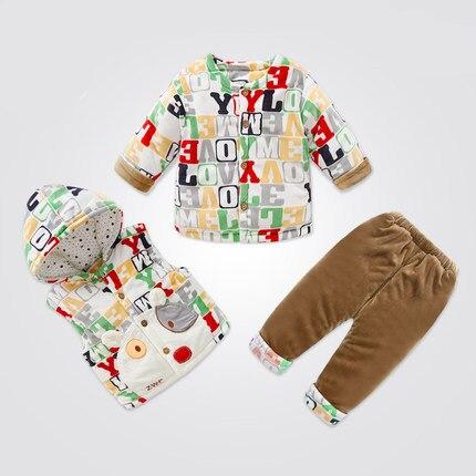 Высочайшее качество детской одежды baby boy grilSpring/Осень согреться Утолщение детская одежда устанавливает ewborn Досуг спортивные костюмы