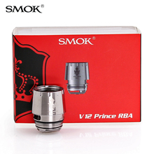 Oryginalny SMOK TFV12 PRINCE RBA cewki 0 25ohm RBA głowy pasuje do TFV12 książę zestaw SMOK MAG tanie tanio DS Dual TFV12 PRINCE TANK