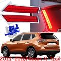 car-styling,X-Trail Taillight,2014~2016,Free ship!2pcs,X-Trail fog light;chrome,X-Trail tail lamp,Rogue taillight,XTrail,X Trail