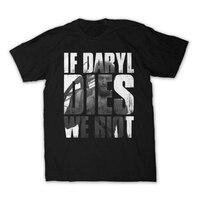 Hot Movie T Shirts The Walking Dead Fan Shirt Various Designs Dixon Zombie 100 Cotton T