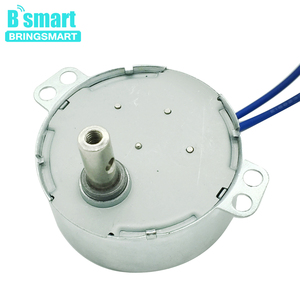 110v 220v 2.5 3 8 10 rpm Crafts Rotate Exhibition /Oscillating Fan Motor Microwave Oven Gear Motor Ac Synchronous Motor TYC-50