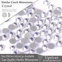 1440pcs All Size Loose Strass Crystal Best Quality Bubble Glue More Shiny Similar Czech Iron On Hotfix Rhinestones