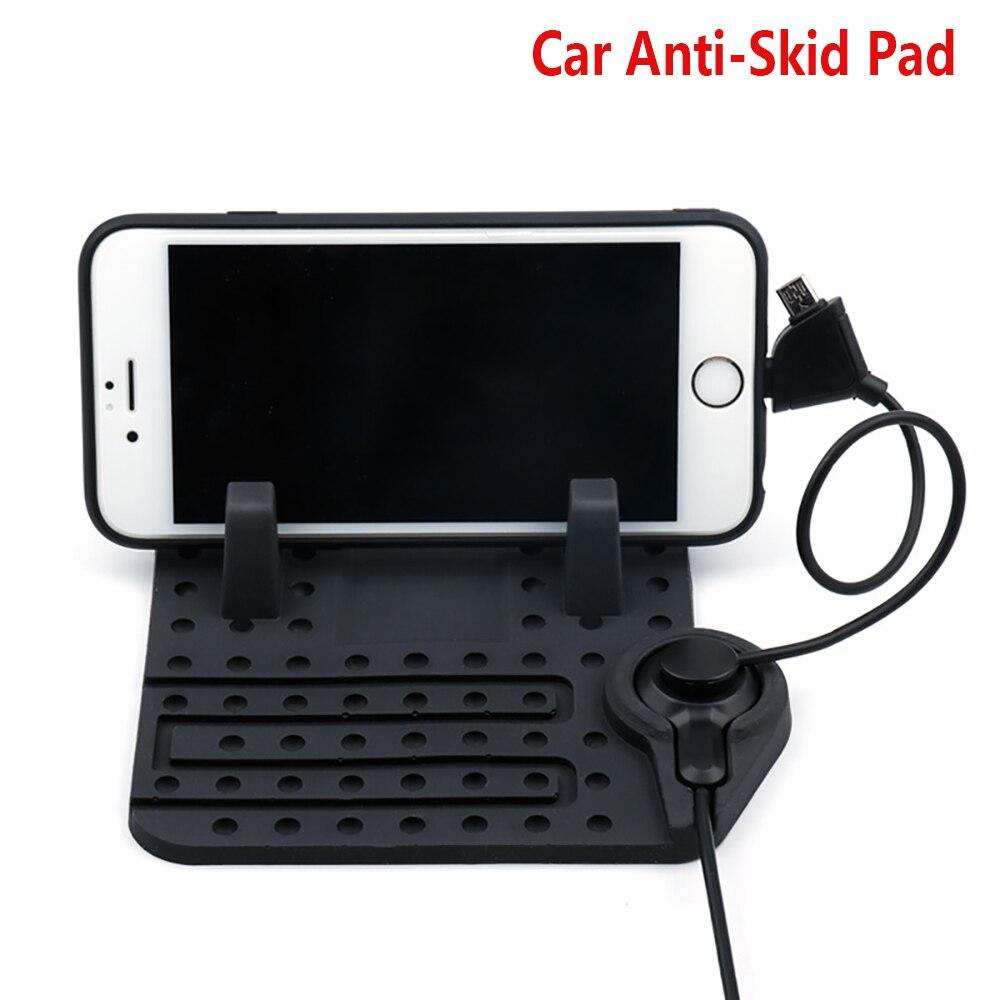 Gadget de voiture Lada kalina Voiture Anti-skid Pad titulaire 14*13 Preto De Voiture tapis En Silicone Téléphone Non-slip Magia pad support De Voiture pour iphone