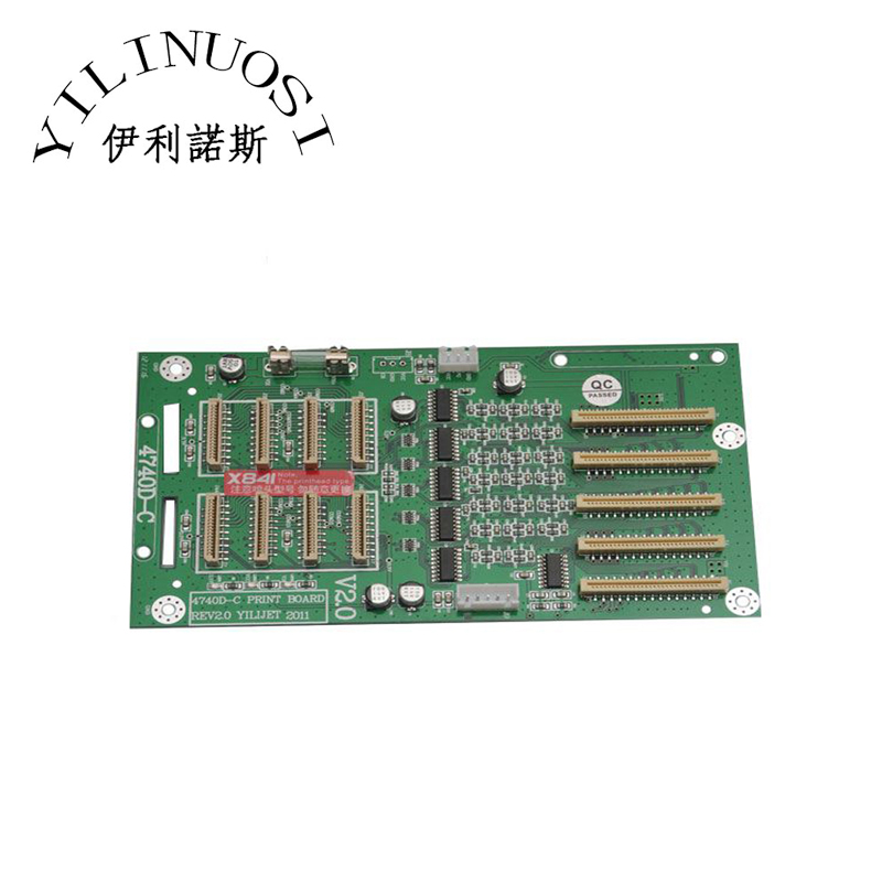 Printhead Board for Xenons X3A-6407ADE Eco-solvent Printer 4740D-C (X841) Printer original printer printhead mainfold eco solvent print head capping cover for roland rs640 740 sj1045ex sj1000 vp300 vp540 xc540