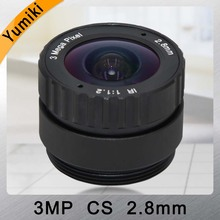 Cs-Mount Cctv-Lens Security-Ip-Camera Wide-Angle Yumiki IR HD for 3MP 120-Degree 1/2.5-