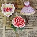 Hot sale prático home decorativa resina rose parede porta toalha gancho para casaco ganchos de toalha cabideiro cabide resina
