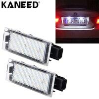 Dla oświetlenia tabliczki Znamionowej Renault Clio 18 SMD-3528 PROWADZIŁ Samochód Auto Światła Tablicy Rejestracyjnej Licencji Lampy Dla Renault Laguna Megane